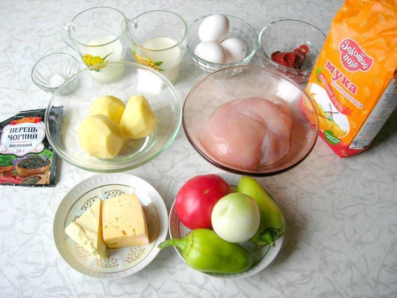 Ингредиенты: видео, выпечка, еда, картофельное тесто, кулинария, пирог, сочная начинка