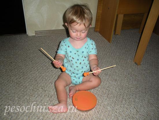 Бубен для ребенка своими руками