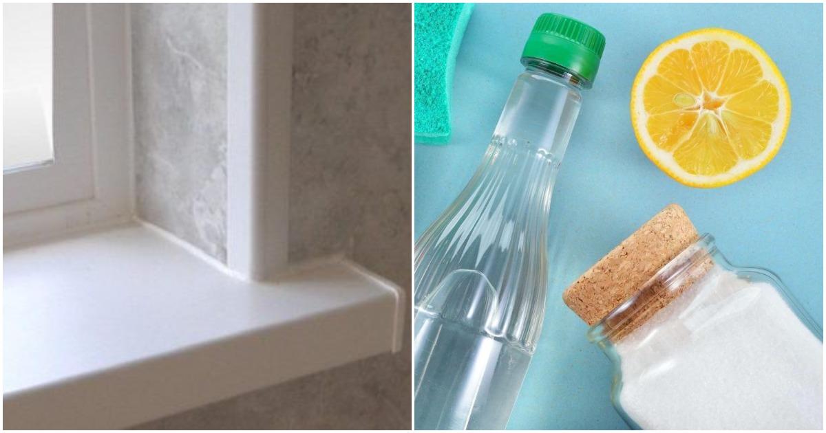 Секреты чистоты: рабочие способы отбелить подоконник