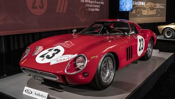 Ferrari 250 GTO за 48.400.000$ стала самой дорогой машиной в мире проданной с аукциона