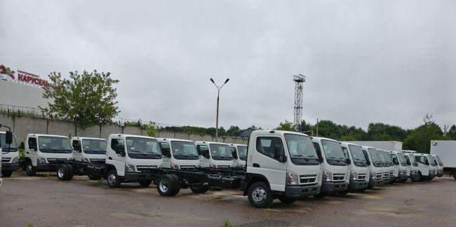 КАМАЗ и Daimler начали совместный выпуск грузовика средней тоннажности Canter TF