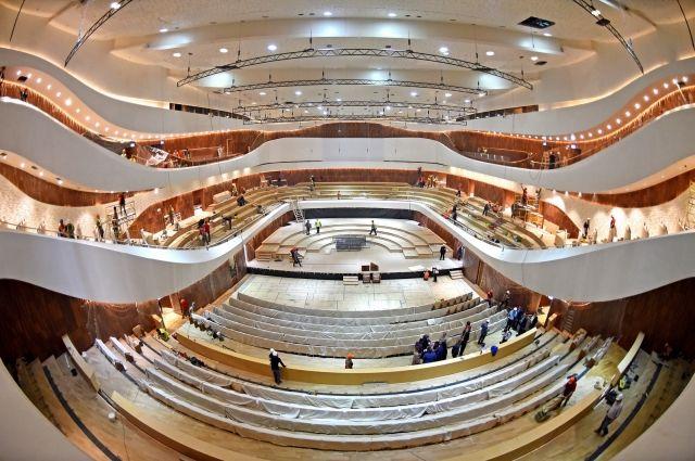 В Москве открывается концертный зал «Зарядье»