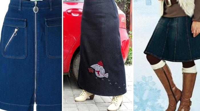 модные юбки из бархата