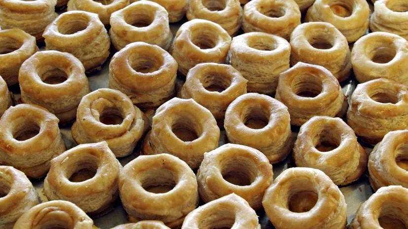 Композиция из почти 23 тысяч пончиков в Кузбассе занесена в Книгу рекордов России