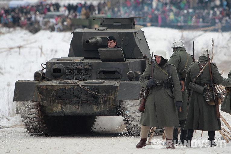 Гайцы остановили фашистские танки на подступах к Кронштадту