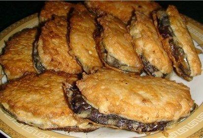 """Жареные баклажаны """"под мясом"""". Просто и вкусно! Оригинальный рецепт """"Синьор баклажан""""."""