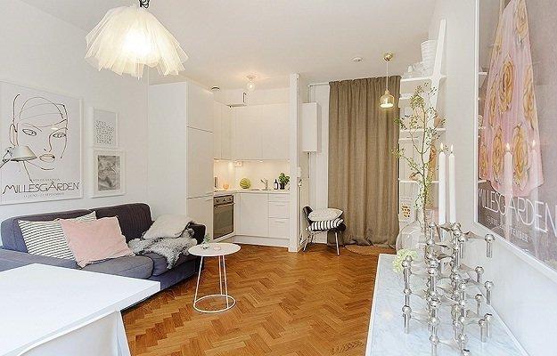Наш формат: квартира площадью 35 квадратных метров
