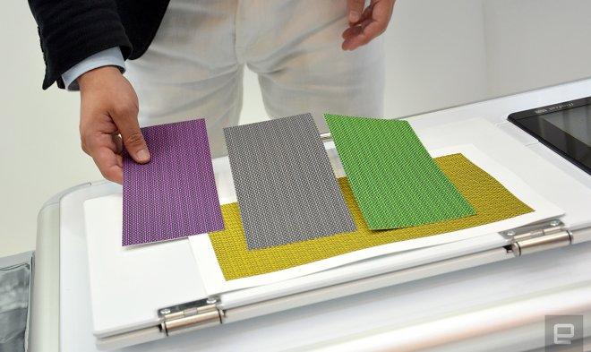 Технология 2.5D-печати позволяет имитировать дерево, кожу и ткани