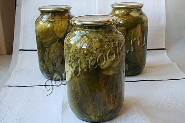 огурцы консервированные в со…