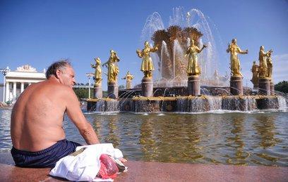 В Центральной России установилась аномальная жара