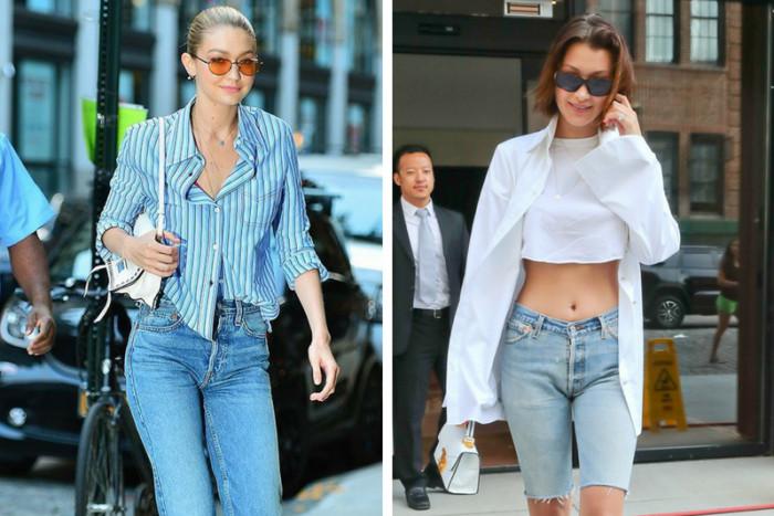 Рубашки в моде — 5 звездных способов носить их летом 2018