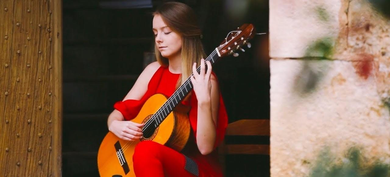 Alexandra Whittingham классическая гитара