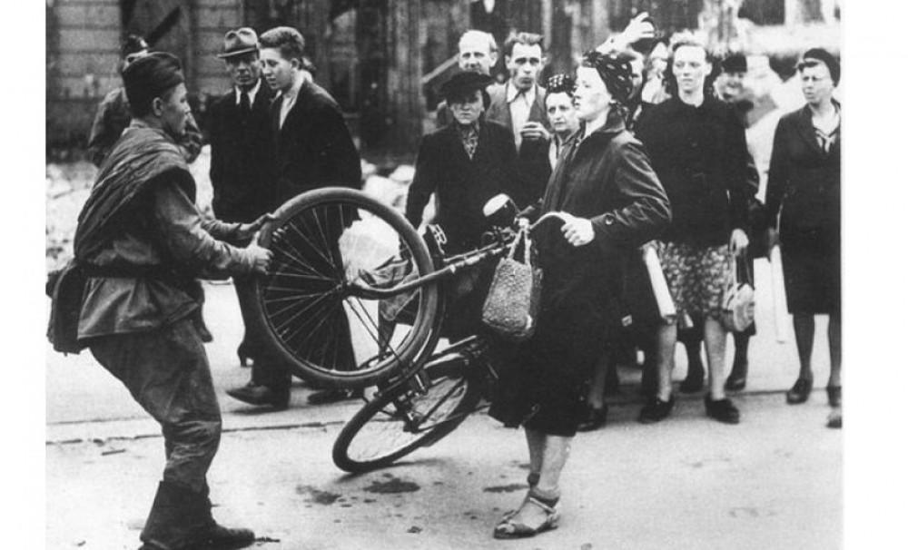 Мирные немцы о солдатах Красной Армии в 1945 году