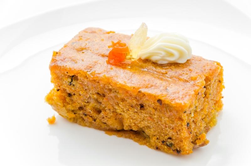 Рецепт постного морковного пирога