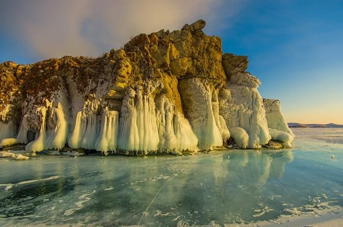 Красоты зимнего Байкала