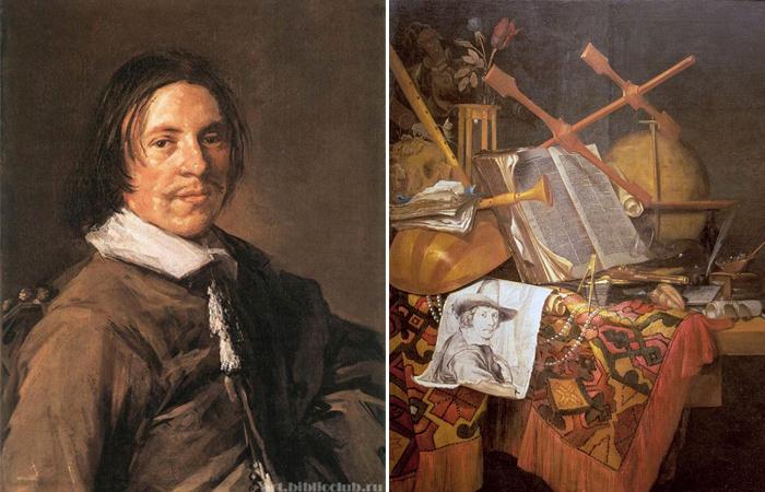 Винсент Лауренс ван дер Винне и его натюрморты vanitas: где художник скрывал свой портрет?