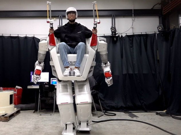 Вместо автомобиля: как выглядит первый ездовой робот-гуманоид