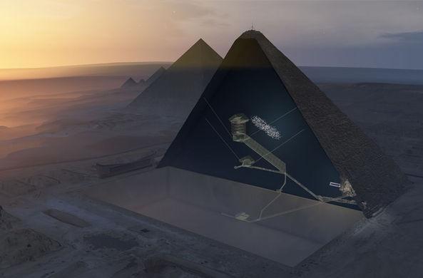 В пирамиде Хеопса нашли тайную комнату