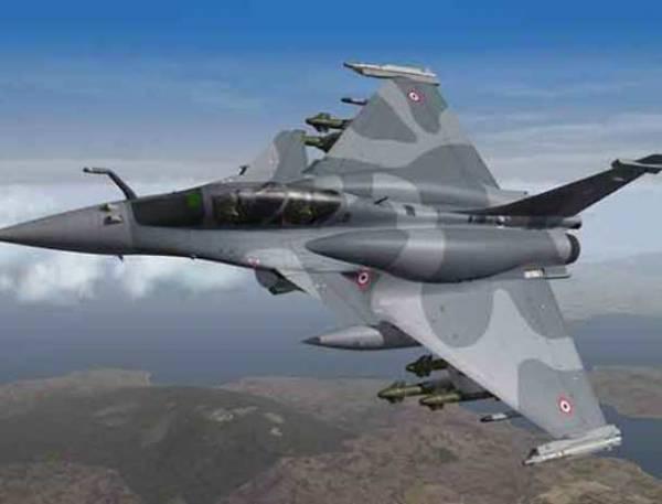 Французские летчики закатили истерику в небе Сирии