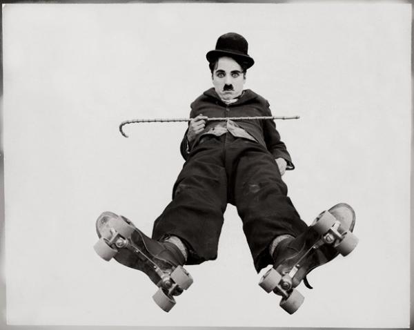 Незнакомый Чарли Чаплин.