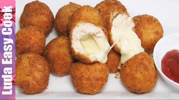 Самые вкусные куриные наггетсы с сыром