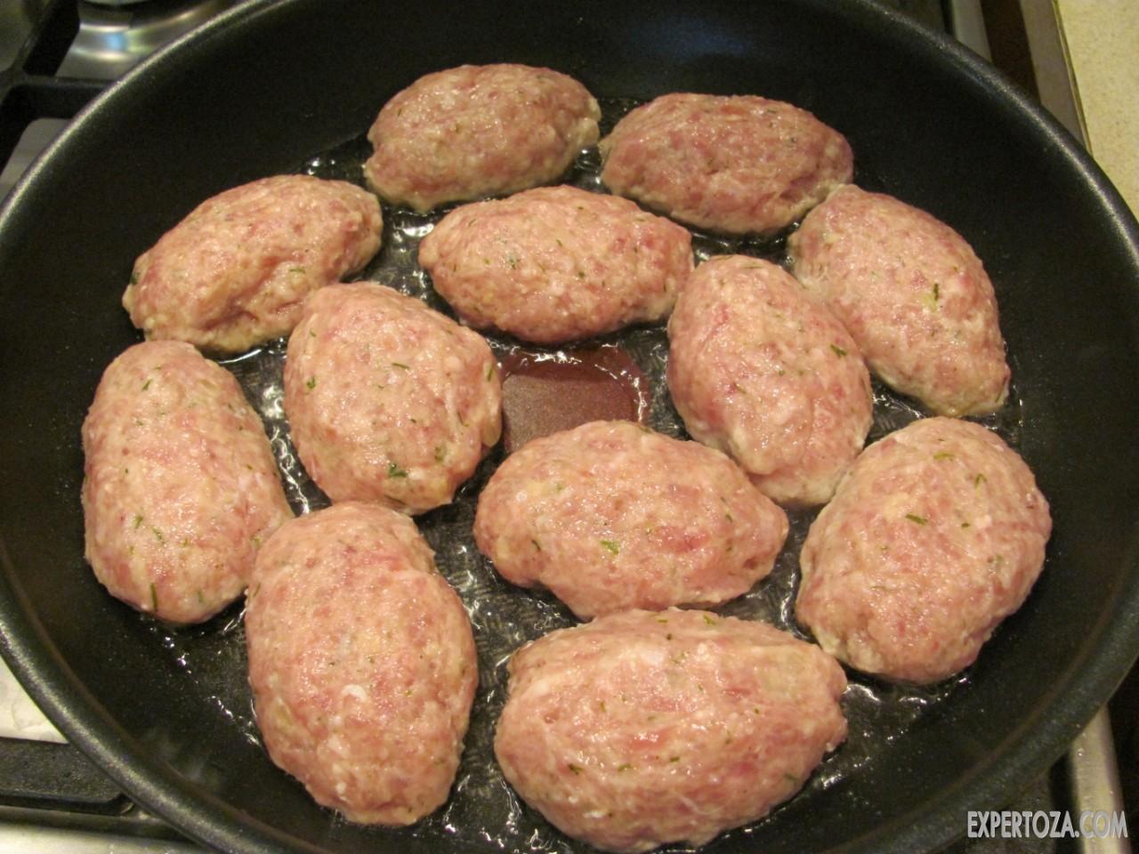 Рецепт мясных котлет 36