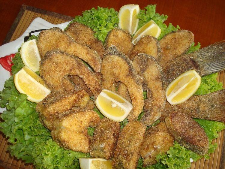 Жареная рыба по-балкански