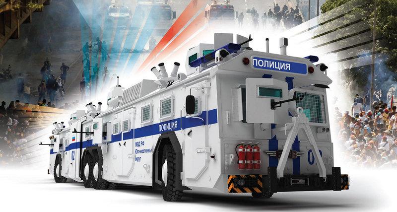 В России придумали автобус быстрого реагирования