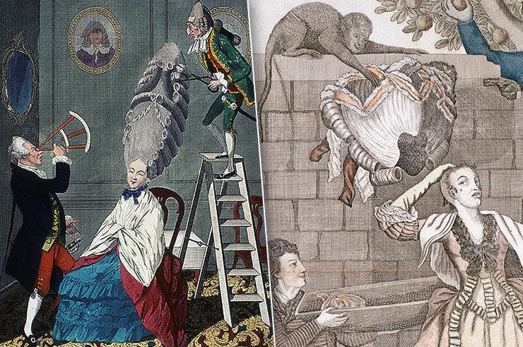 Укладка в клетке и «зоопарк» в волосах: модные прически прошлого