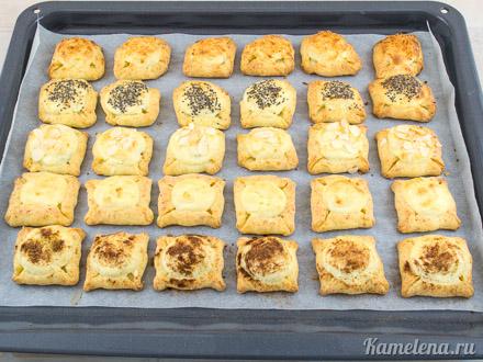 Двойное творожное печенье — 13 шаг