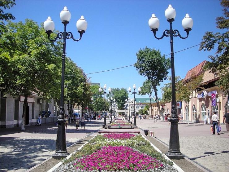 Центр города Ейск