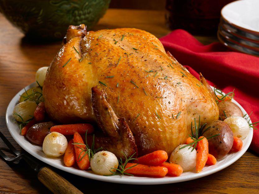 Курица целиком в духовке как приготовить