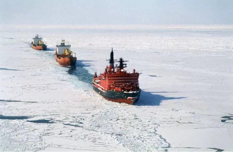 Грузооборот в портах Арктики…