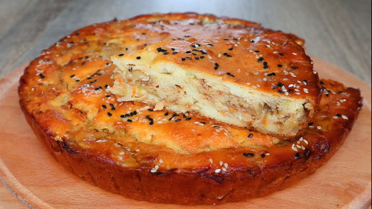 Лучшее тесто для заливных пирогов!