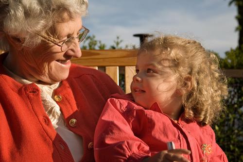 видео бабушек и внуков