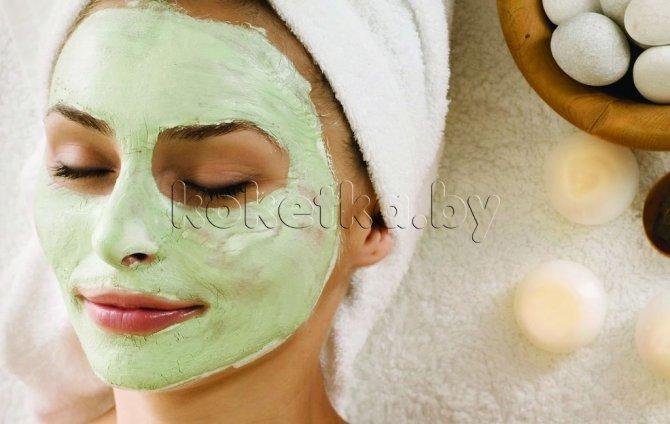 Как сделать маску для лица в домашних условиях от прыщей и черных точек