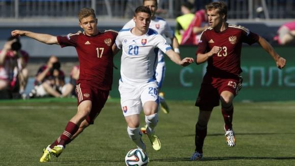 Точный удар Кержакова принес сборной России победу над Словакией