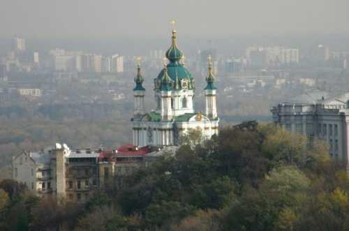 Андреевская церковь на Подоле как символ…
