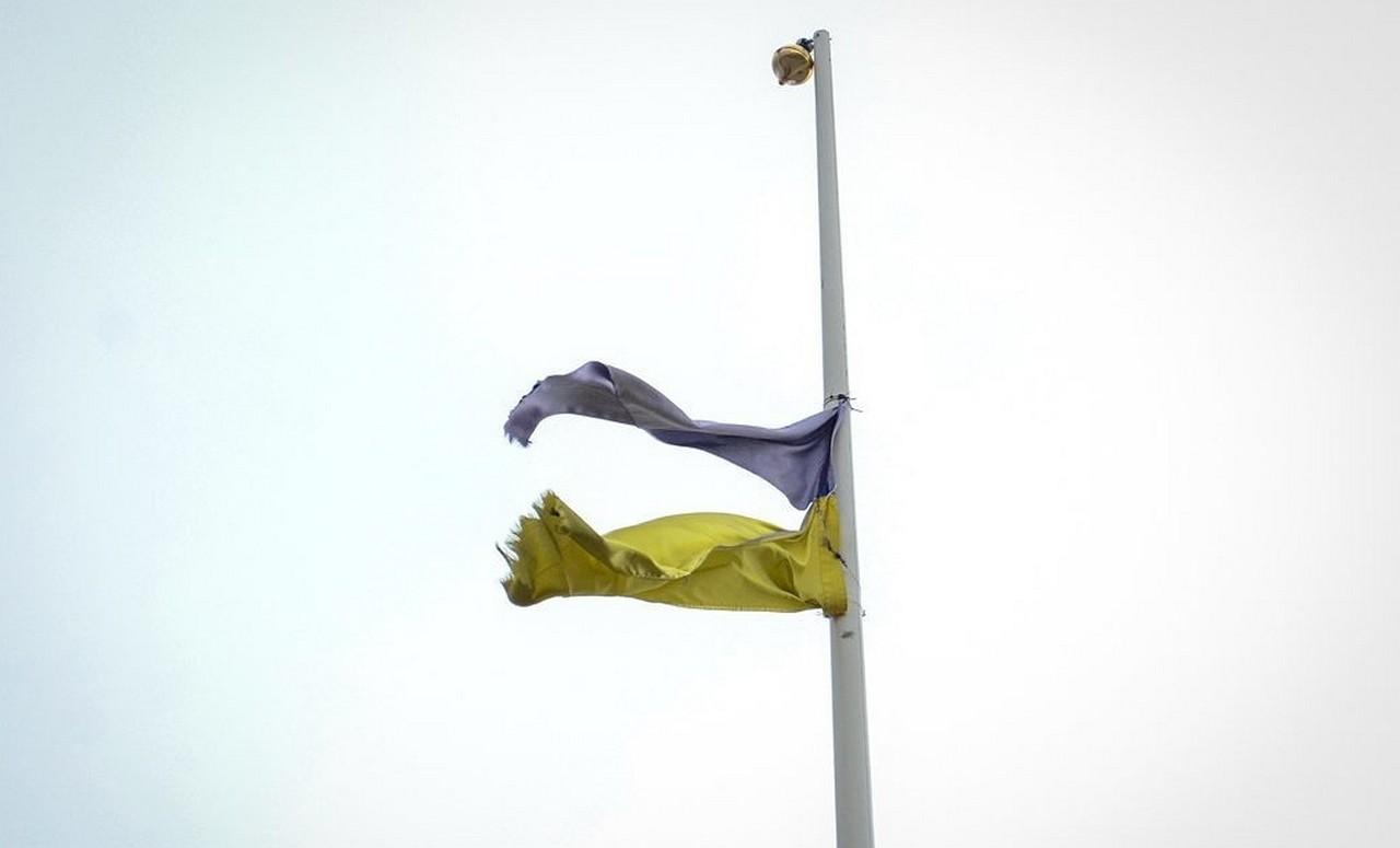 Украина и война: «уходит в небо» очередной военный склад