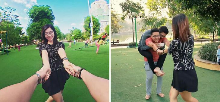 Как сделать романтическое фото