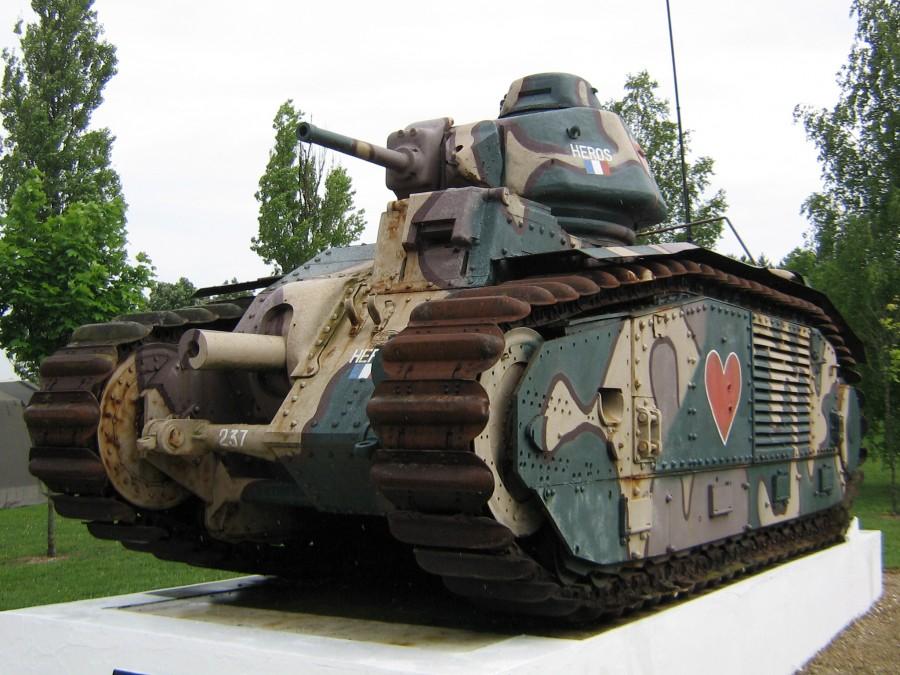Французские танковые гиганты…