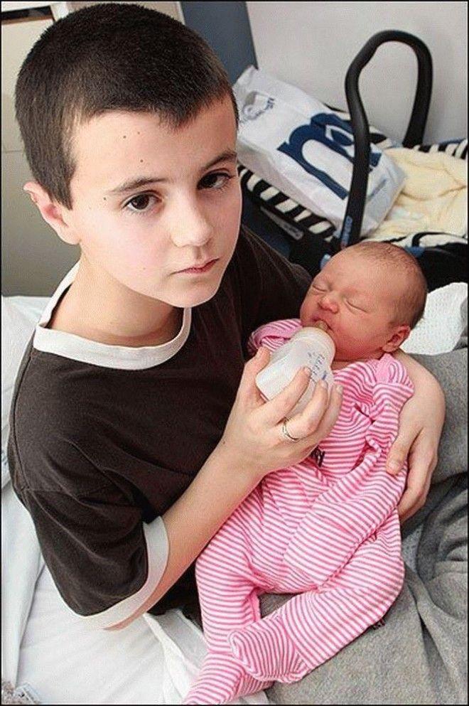 Стать папой в 13 лет. Каково это -- быть самым молодым отцом в мире