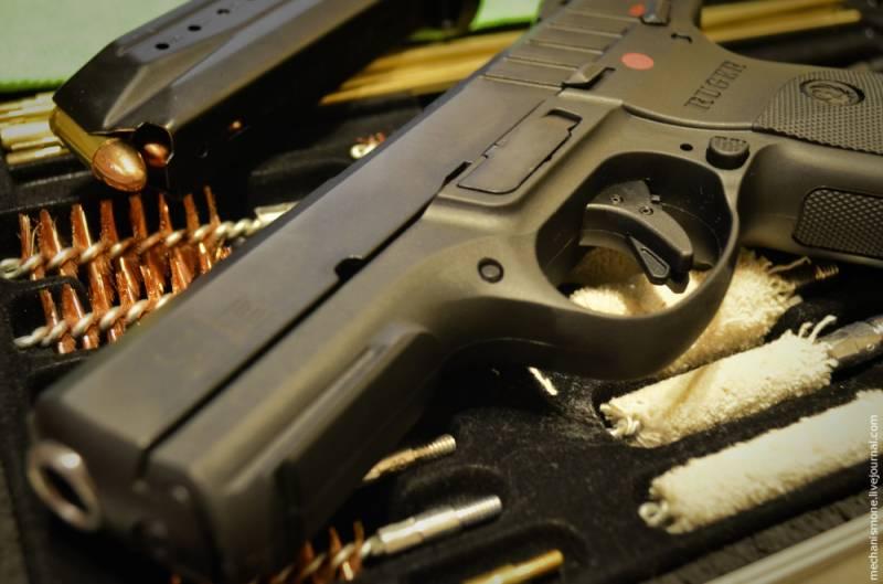 Пистолеты и менталитеты