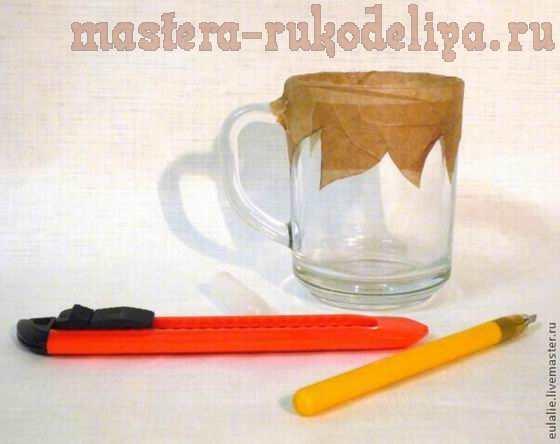 Мастер-класс по точечной росписи: Кружка Листопад
