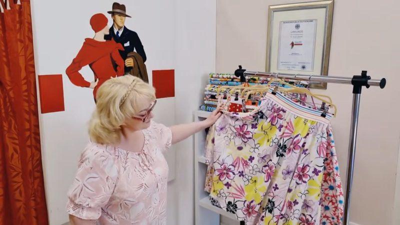 Идеальная летняя юбка для пышек всего за 30 минут