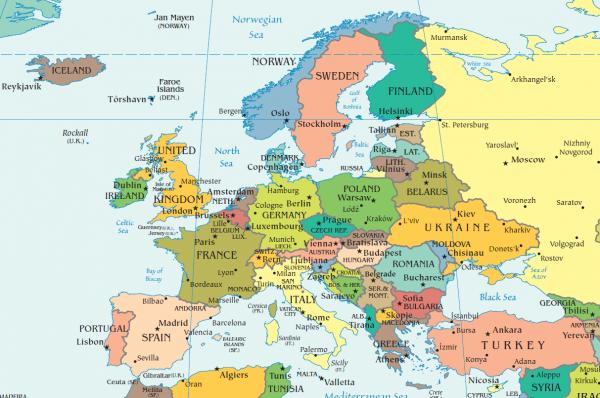 Россия— на16 месте вЕвроп…