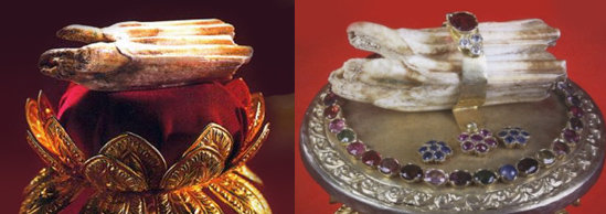 Зуб Будды, переживший десятки покушений
