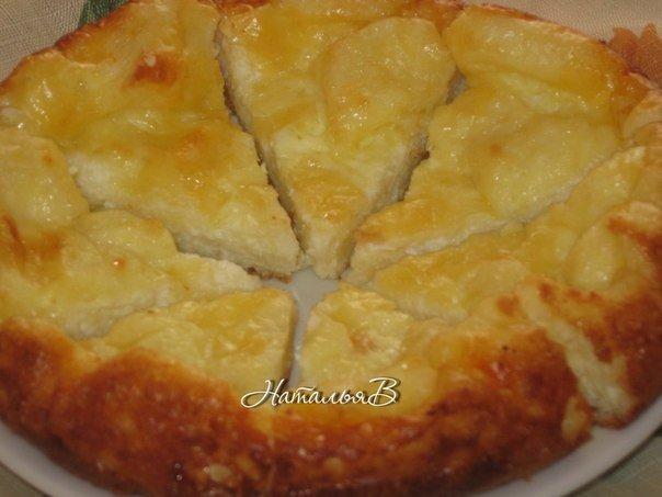 Быстрый и вкусный сырный пирог для маленьких нехочух
