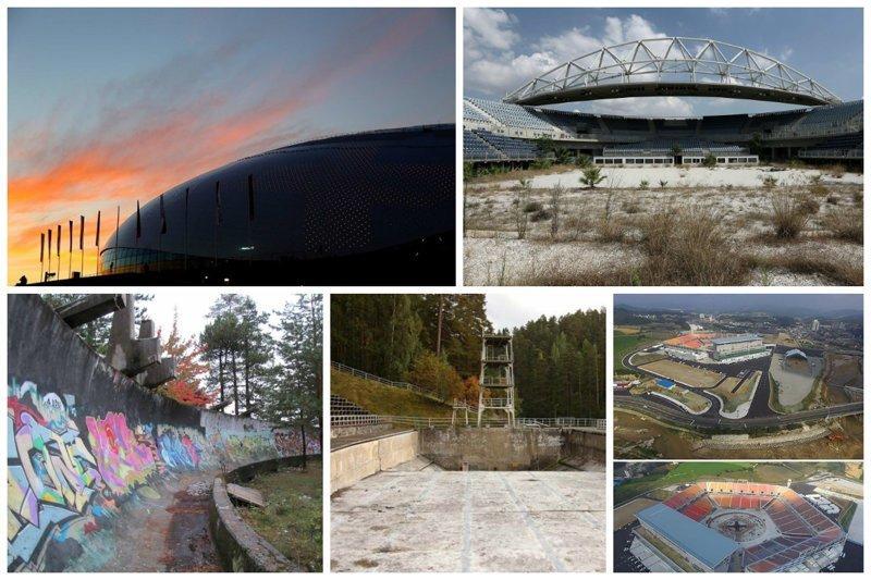 Окончен бал, погасли свечи: как выглядят олимпийские объекты после Игр