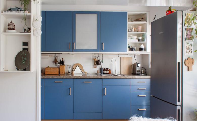 Дизайнерские идеи для маленьких кухонь